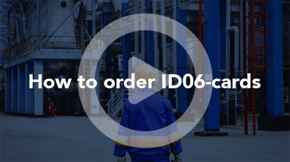 How to order ID06 cards